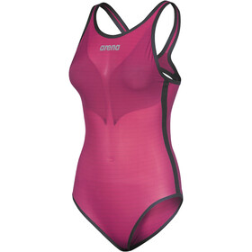 arena Powerskin Carbon-DUO Swimsuit Women, pink peacock